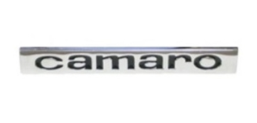 Rear Emblem for 1967 Camaro - Script Camaro