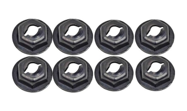 Emblem Speed Nut Set 1/8""