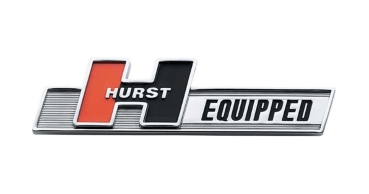 HURST EQUIPPED Emblem