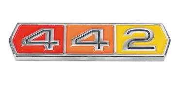 Quarter Panel Emblem for 1964-65 Oldsmobile Cutlass 442 - 442