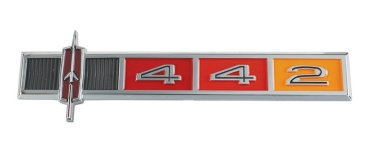 Dash Emblem for 1965 Oldsmobile Cutlass 442 - 442