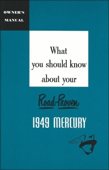 1949 Mercury - Owners Manual (English)