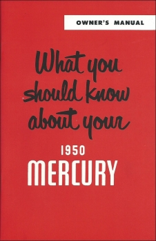 1950 Mercury - Owners Manual (English)