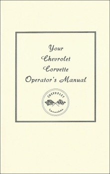 1953-55 Chevrolet Corvette - Owners Manual (english)