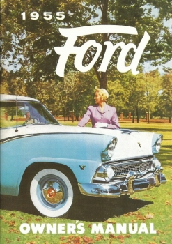 1955 Ford - Owners Manual (english)