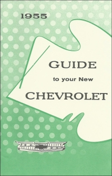 1955 Chevrolet 150/210/Bel Air - Owners Manual (english)