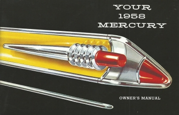1958 Mercury  - Owners Manual (English)