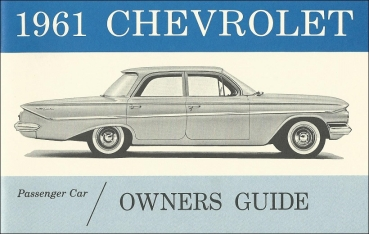 1961 Chevrolet Full Size - Owners Manual (English)