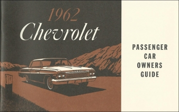 1962 Chevrolet Full Size - Owners Manual (English)