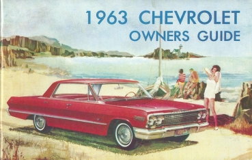 1963 Chevrolet Full Size - Owners Manual (English)