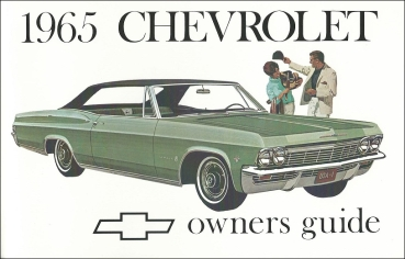 1965 Chevrolet Full Size - Owners Manual (English)