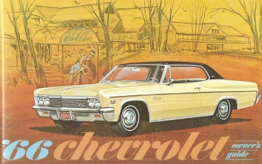 1966 Chevrolet Full Size - Owners Manual (English)