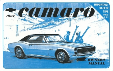 1967 Chevrolet Camaro - Owners Manual (English)