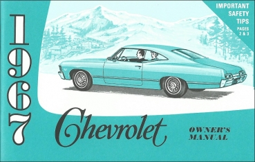 1967 Chevrolet Full Size - Owners Manual (English)