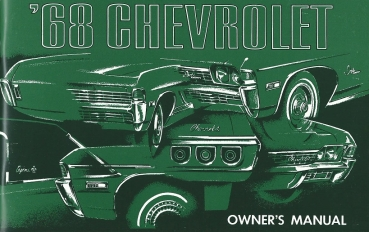 1968 Chevrolet Full Size - Owners Manual (English)