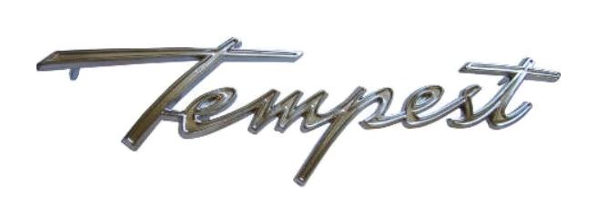Fender Emblems for 1961 Pontiac Tempest - Tempest