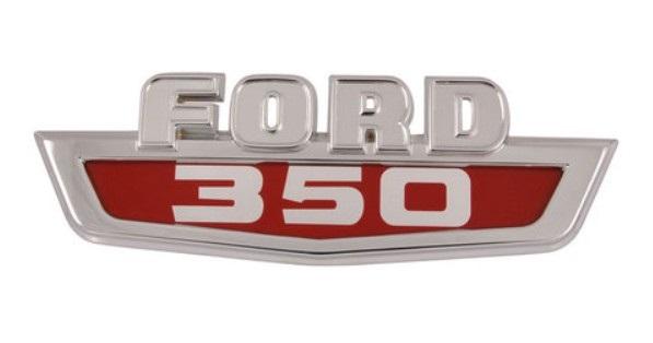 Hood Emblem for 1963-64 Ford F350 - FORD 350