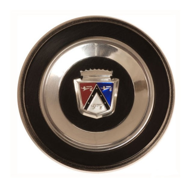 Horn Ring Emblem for 1963-64 Ford Galaxie Custom - Ford Crest