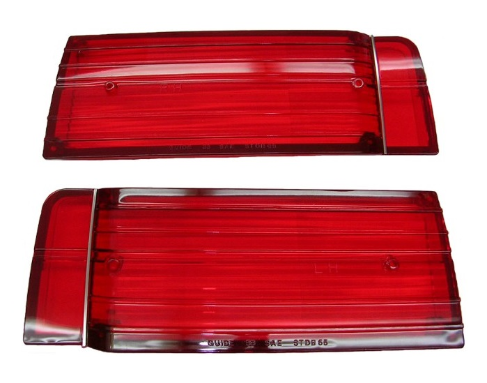 Tail Lamp Lenses for 1965 Oldsmobile Cutlass/442 - Pair