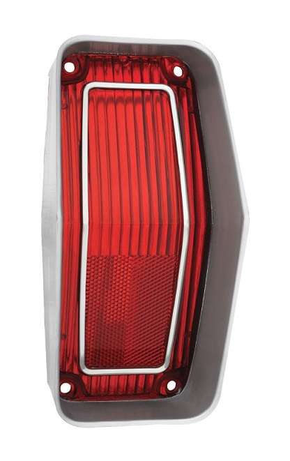Tail Lamp Lens for 1970 Oldsmobile Cutlass Supreme and SX